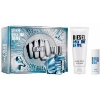 Diesel Only the Brave Gift Set Eau de Toilette 75 ml + Deodorant + Gel
