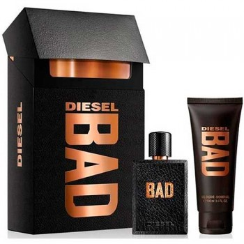 Estuche Diesel Bad Edt 50 ml + Gel de ducha 100 ml