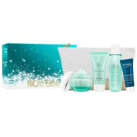 Biotherm Aquasource Piel Norma 50 ml Gift Set Aquasource Night Spa 20 ml + Biosource Lotion 100 ml + Biosource Nettoyant 50 ml +
