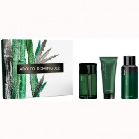 Adolfo Dominguez Bambú para hombre Edt 120 ml + Deo+ After Shave
