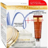 Collistar Pures Active Balm Cream 50 ml Gift Set Eye Contour 75 ml
