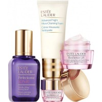 Estuche Estee Lauder Repair Perfecionist Serum 50 ml + Contorno de Ojos 5 ml + Serum 50 ml + Advanced Night Limpiador 30 ml