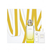 Hermes Jardin Monsieur Li Gift Set Eau de Toilette 100 ml +  Body Milk + Gel