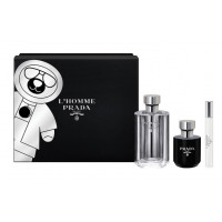 Prada LHomme Gift Set  Eau de Toilette 100 ml + Body Shower 100 ml