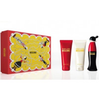 Estuche Moschino Cheap  Chic Edt 50 ml + Loción Hidratante 100 ml + Gel de Ducha 100 ml