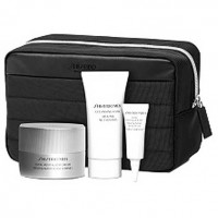 Estuche Shiseido Men Total Revitalizer Crema Anti Edad 50 ml + Limpiador Espuma 30 ml + Ultimune Power 10 ml + Contorno de Ojos