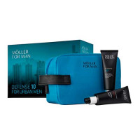 Estuche Anne Moller Man Flashtec Urban Defender 50 ml + Gel Hidratante Protector 50 ml + Neceser