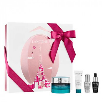 Estuche Lancome Visionnaire Advanced Multi Corrector 50 ml + Visionnaire Contorno de Ojos 7 ml + Advanced Genifique Serum 10 ml