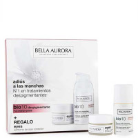 Bella Aurora Bio 10 Anti-Dark Spots Serum Grass Skin 30 ml Gift Set Eye Contour Cream 15 ml