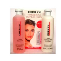Chen Yu Pack Facial Cleansing Cleansing Milk 300 ml + Tonic Lotion 300 ml Dry and Sensitive Skin