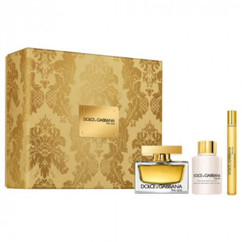 Dolce  Gabbana The One Gift Set Eau de Parfum + Body Mil + Gel