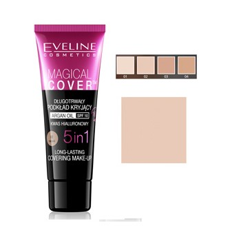 EVELINE MAQUILLAJE MAGICAL COVER 02
