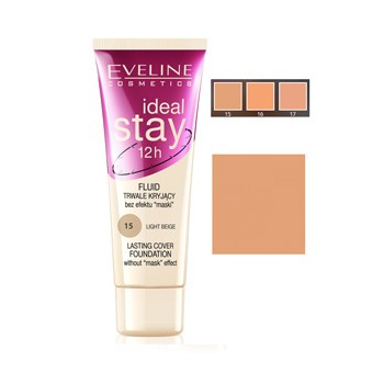 EVELINE MAQUILLAJE IDEAL STAY 15