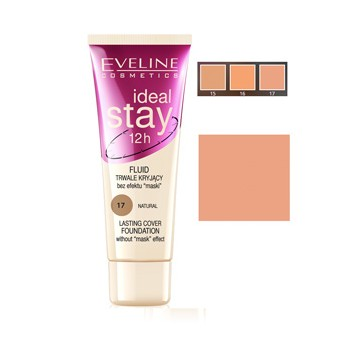EVELINE MAQUILLAJE IDEAL STAY 17