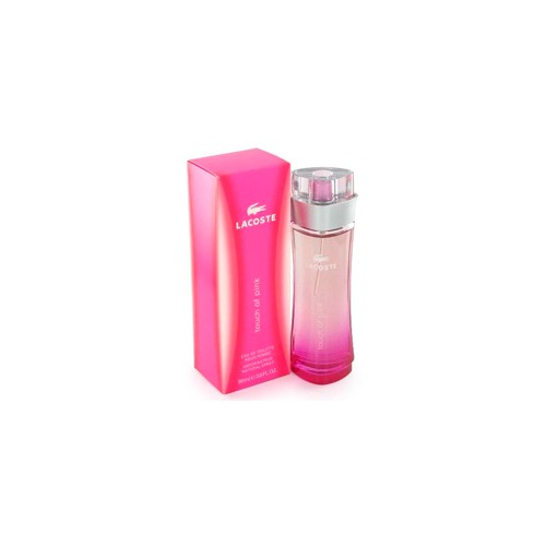 lacoste pink eau de toilette spray 90 ml