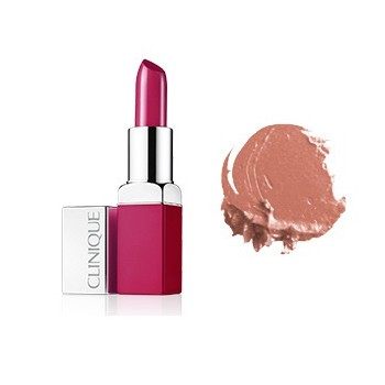 CLINIQUE LABIAL POP LIP COLOUR + PRIMER 01 NUDE POP