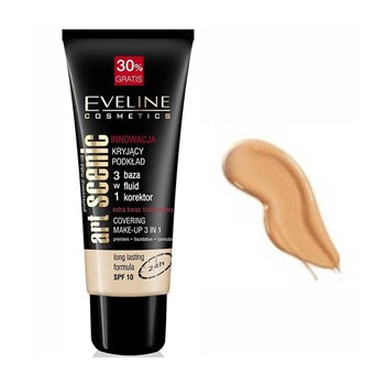EVELINE  MAQUILLAJE ART SCENIC LIGHT BEIGE