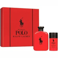 Estuche Ralph Lauren Polo Red Men Edt 125 ml + Regalo Desodorante