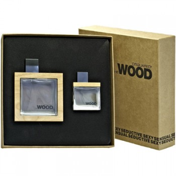 Estuche Dsquared He Wood Edt 100 ml + Regalo 30 ml