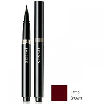 SENSAI EYELINER LIQUID LE02 BROWN