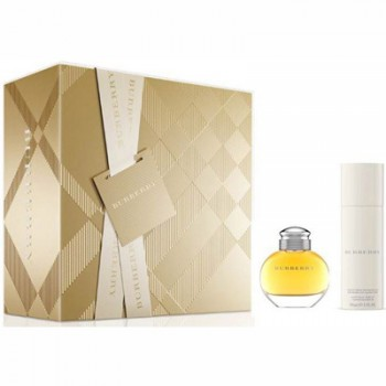 Estuche Burberry Woman 100 ml Edp + Regalo Desodorante + Miniatura