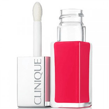 Clinique Lipstick Pop Lacquer Lip Colour + Primer 04 Sweetie Pop
