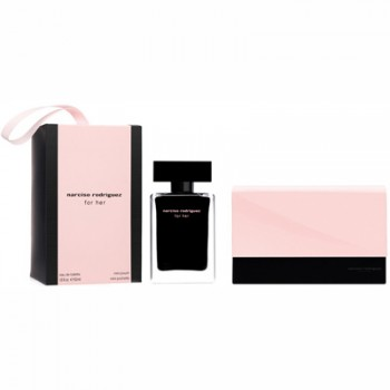Estuche Narciso Rodriguez For Her Edt 50 ml + Regalo Mini Bolso