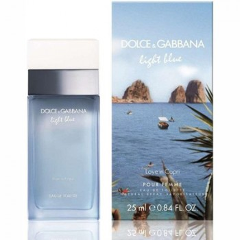 Dolce  Gabbana Light Blue Love in Capri pour Femme Edt 50 ml