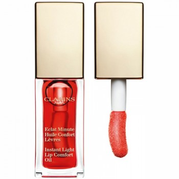 Clarins Tratamiento Labios Eclat Minute Huile Confort Lèvres 03 Red Berry