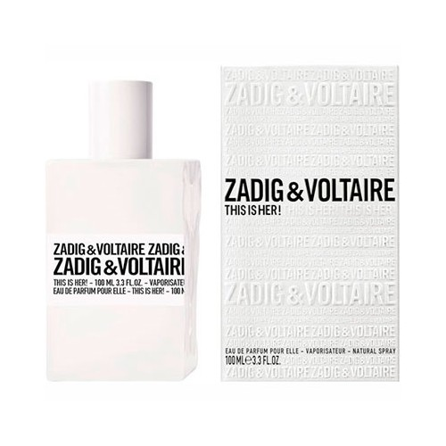 zadig voltaire this is her eau de parfum 50 ml. Black Bedroom Furniture Sets. Home Design Ideas