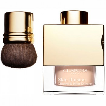 Clarins Skin Ilusion Loose Powder Foundation 112 + Brush 13 g
