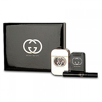 Estuche Gucci Guilty Edt 75 ml + Regalo 7.4 ml + Leche Corporal