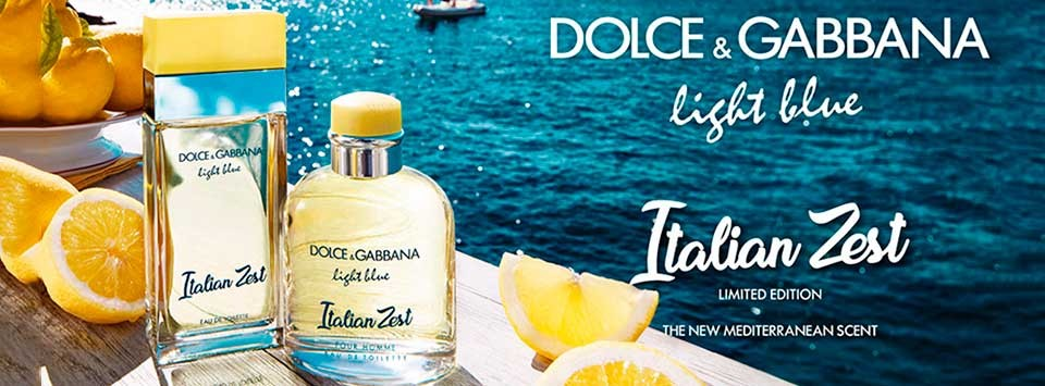 Discover the new Dolce & Gabbana Limited Edition Italian Zest