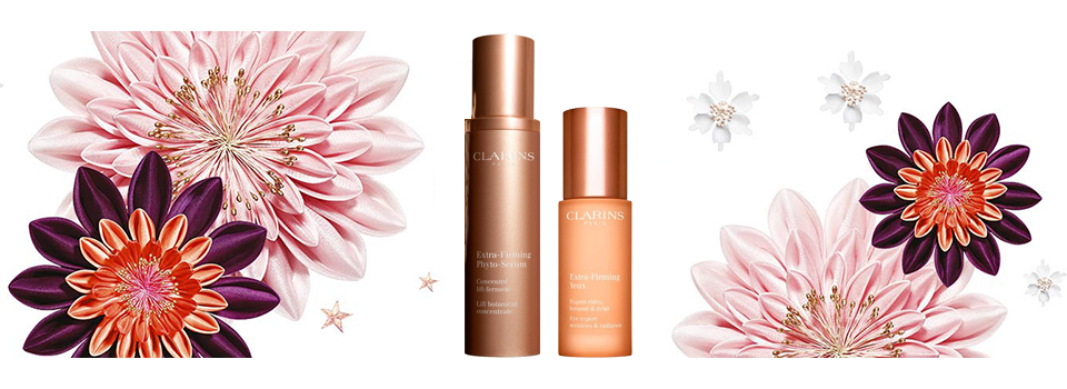 Discover the new Extra-Firming line products by Clarins